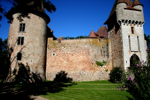 restauration d'un mur de chateau